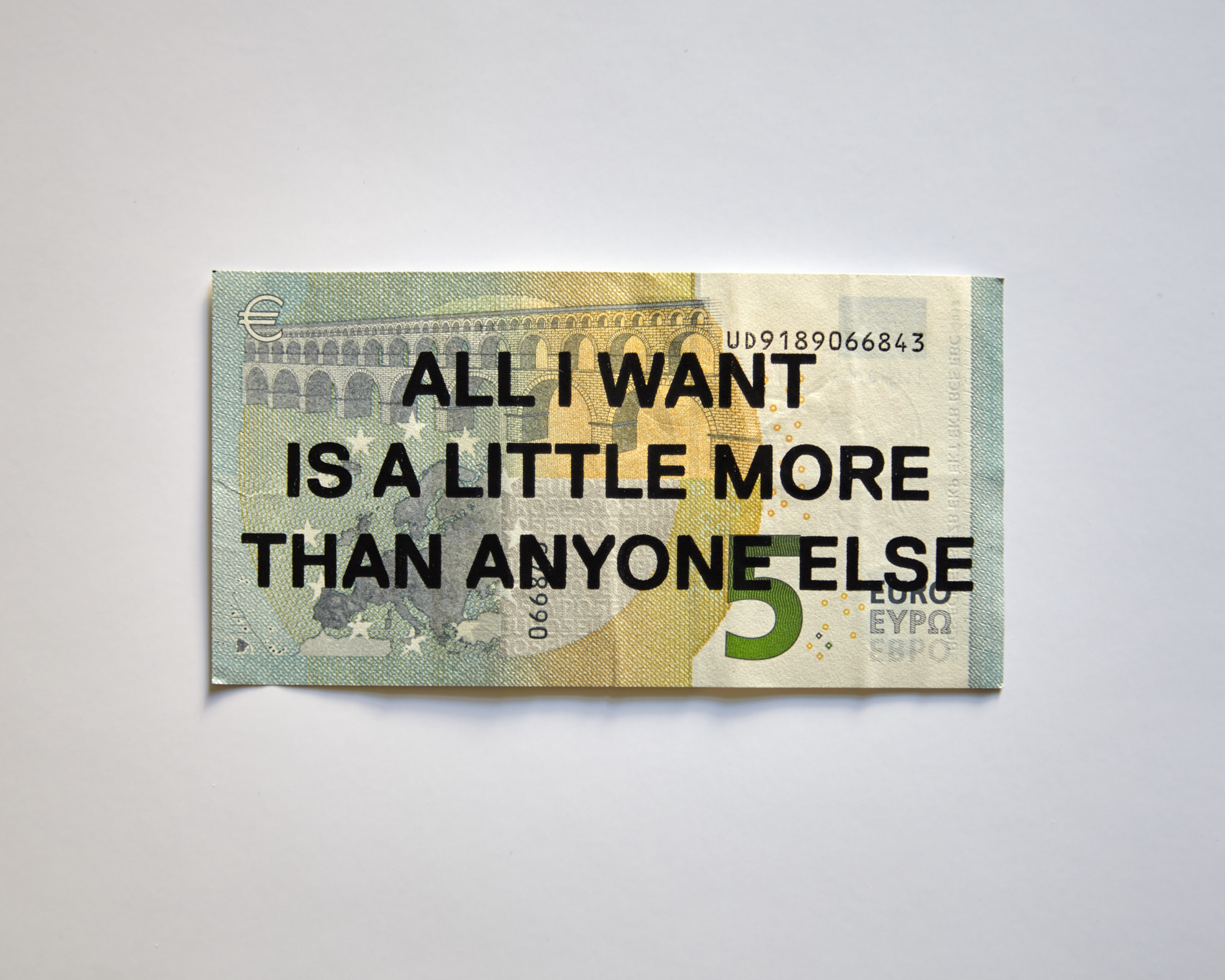 Max Eicke — All I Want Is A Little More Than Anyone Else